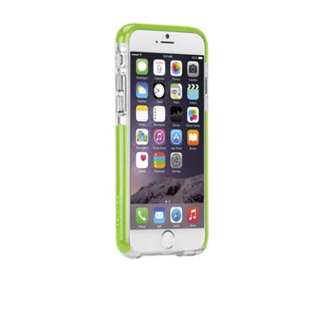 mate tough air iphone 6 4 7 quot clear lime cases