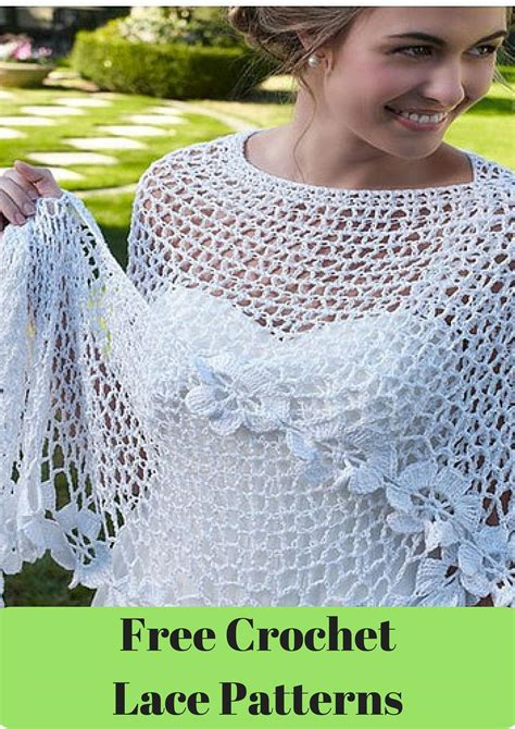 crochet patterns 30 free crochet lace patterns allfreecrochet