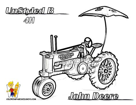 coloring pages of john deere tractors free coloring pages of john deer b