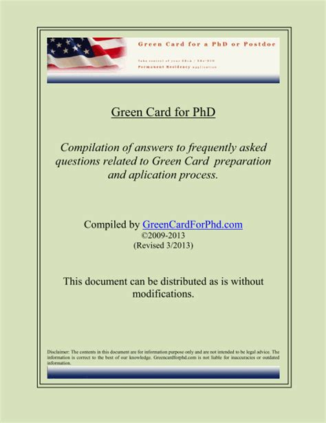 Support Letter Green Card Niw Or Eb1a Do It Yourself Packets Green Card For Phd Holders Or Postdocs Self Petition
