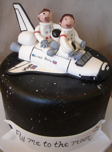 space shuttle space theme cakejpg
