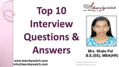 best questions and answers top 10 questions and answers