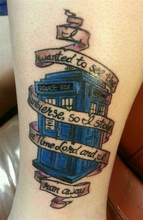 tardis tattoo design doctor who tardis illustrate me tattoos