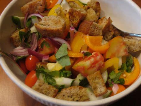 italian bread salad recipe ina garten panzanella salad recipe barefoot contessa close to home