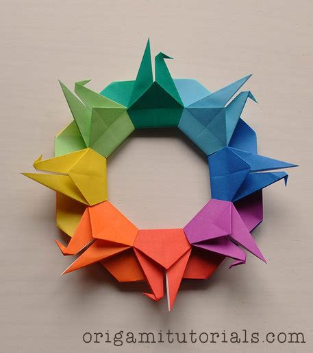 Home Origami - furnish your home with diy origami decor craftfoxes