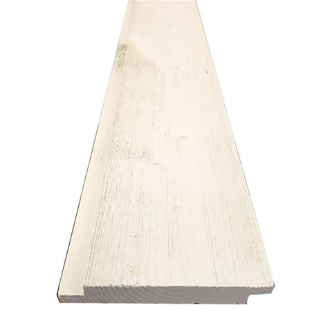 1 X 6 Shiplap Pine 1 In X 6 In X 8 Ft Barn Wood Pre Finished White Shiplap
