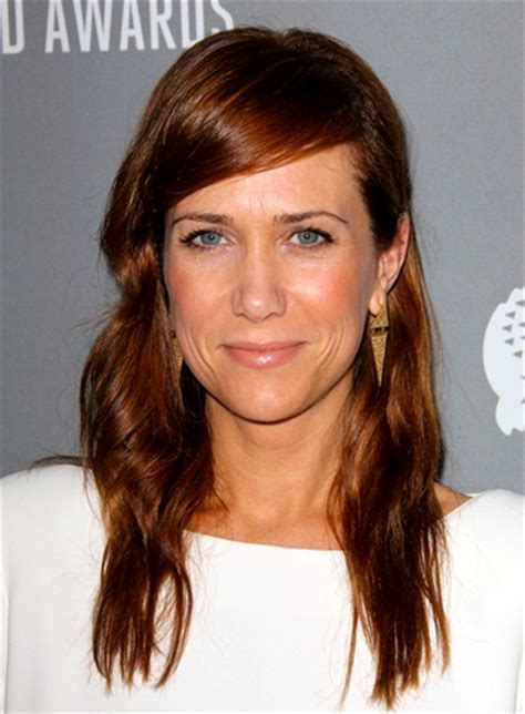 kristen wiigs hairstyles long red hairstyles beauty riot