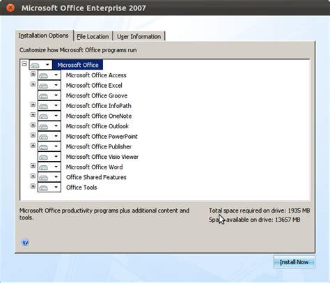 Installer Microsoft Office install microsoft office 2007 in ubuntu 12 04 or 12 10 techblogsearch