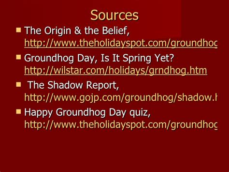 groundhog day quiz the history of groundhog day
