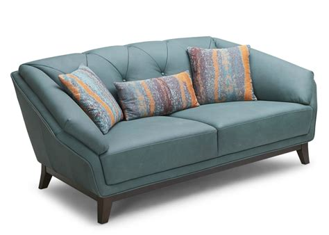 teal leather couch teal leather sofa best sofas decoration