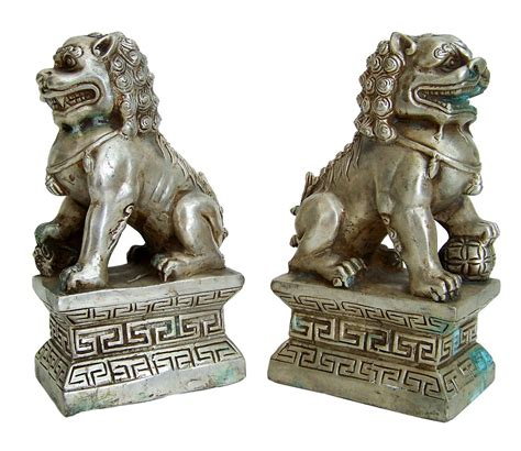 foo dogs foo dogs lion fu dog chinese guardian lions white