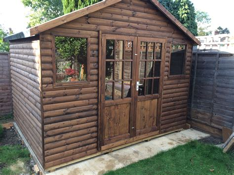 Shed Lining Paper by Combination Buildings Mb Garden Building