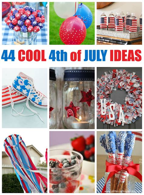 67 amazing fourth of july party ideas a little craft in