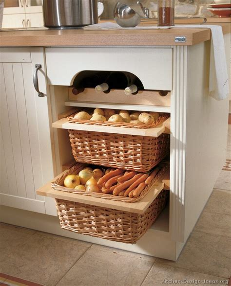kitchen cabinet baskets pictures of kitchens traditional off white antique