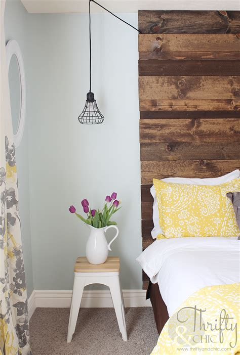 Floor To Ceiling Headboard Diy by Thrifty And Chic Diy Projects And Home Decor