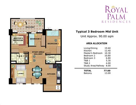 Towers On The Grove Floor Plan by Royal Palm Residences Dmci Homes Real Estate Broker