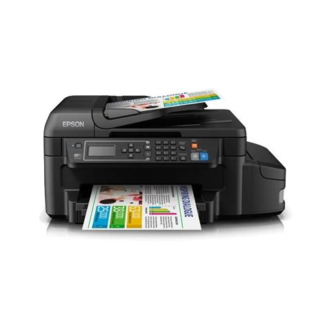 Epson L655 Ink Tank System All In One Printer Print Copy Color Printer With Wifi L