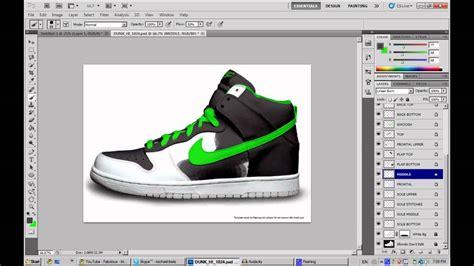 jordan templates for photoshop custom shoe design photoshop ep1 youtube