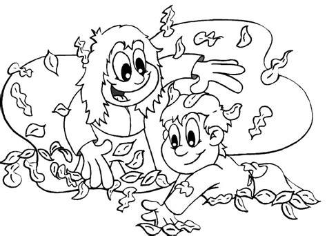 imagenes de niños jugando sin colorear hojas del parque dibujalia dibujos para colorear