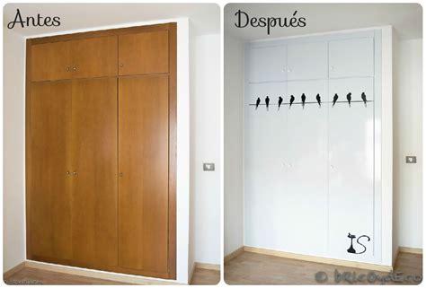 como forrar las puertas del armario  vinilo paso  paso