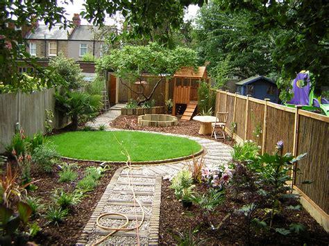 long backyard ideas long thin suburban floral hardy london uk
