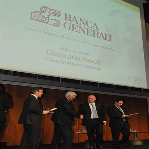 www banca generali it oscar di bilancio banca generali it