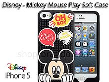 Headset Mickey Mouse By M A C iphone 5 5s disney mickey mouse play soft
