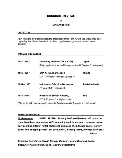 great resume objectives exles exles of resumes resume social work