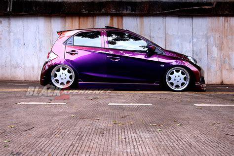 modifikasi kendaraan modifikasi honda brio s kecintaannya dengan kendaraan