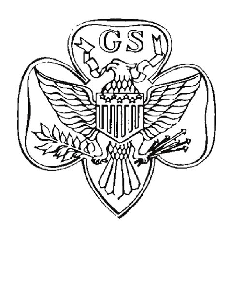 daisy girl scout coloring pages coloringpagesabc com