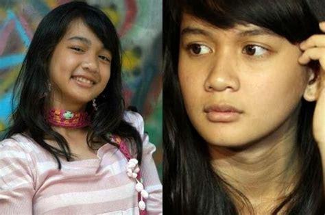Kaos Ndx Aka 9 10 perbedaan wajah artis cilik saat kecil dan dewasa