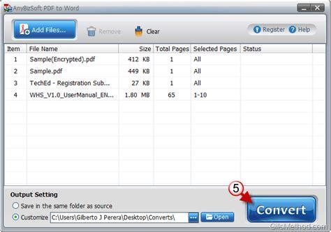 convert pdf to word registration key anybizsoft pdf to word converter 3 0 serial key download