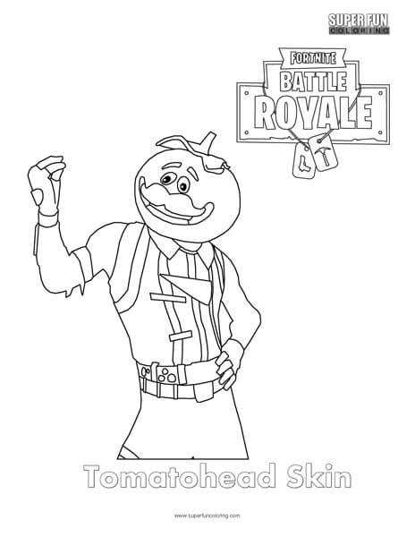 fortnite colouring pages tomatohead skin fortnite coloring page coloring