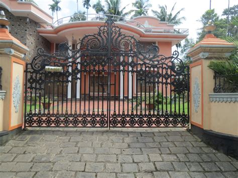 house gate design kerala kerala gate designs august 2013