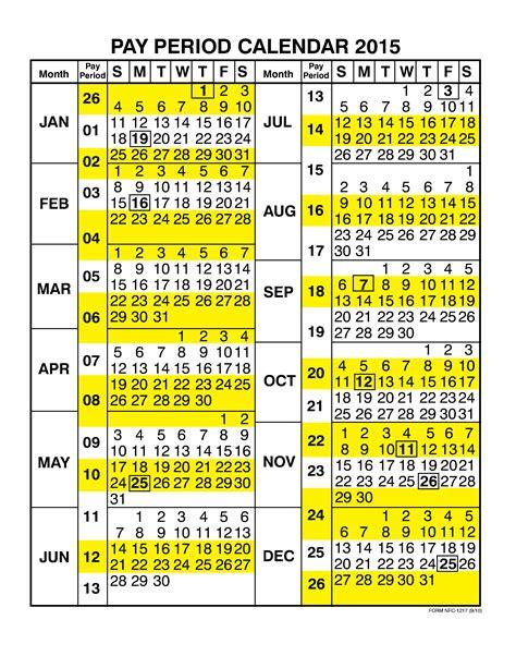 Pay Calendar 2017 Gsa Payroll Calendar Calendar 2017