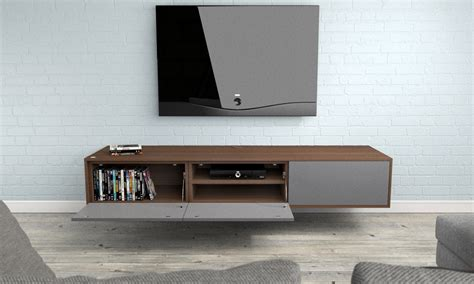 media couches furniture creative floating media cabinet for modern