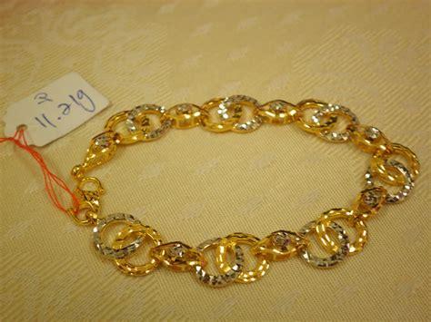 Emas 22krt Berat 70 Gram ahmaj jewelleries 2u barang kemas 916 gelang