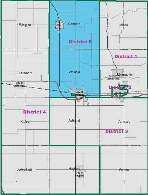 dodge center mn county commissioner district 5