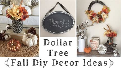 dollar tree diy rustic fall decor ideas