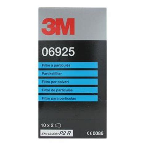 3m particulate filter 3m 06925 particulate filters to suit 06783 respirator
