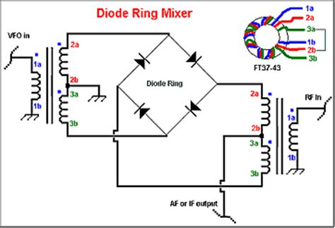 qucs schottky diode diode single balanced mixer circuit 28 images diode single balanced mixer circuit radio