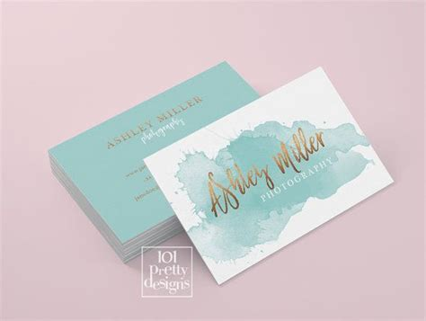 Watercolor Business Card Template Free by 25 Best Ideas About Watercolor Business Cards On