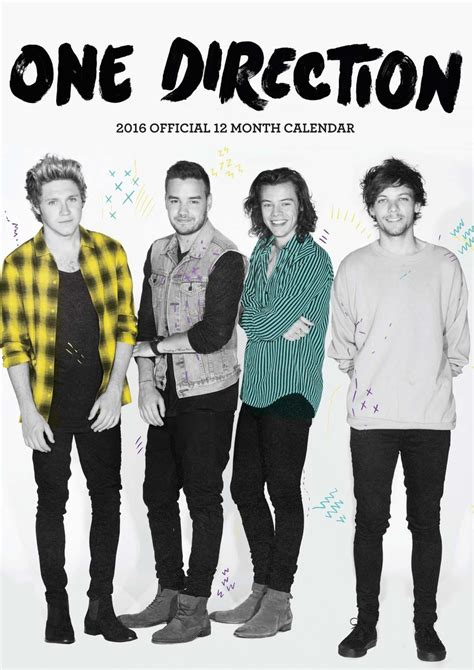 One Direction Tour Artist Kaosraglan 4 one direction 1d calendars 2018 on europosters
