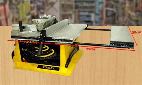 Table Saw Dewalt By Jago Teknik stanley stst1825 1800w 254mm table saw surabaya teknik