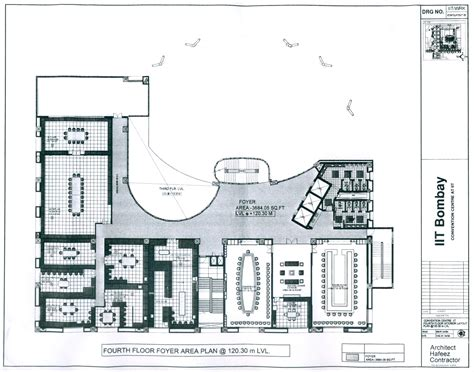 layout for university layout plan of vmcc iit bombay