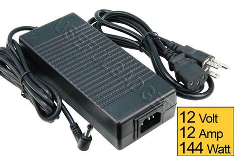 Shinyoku Switching Power Supply 12v 12a ac dc 12v 12a 144w power supply converter adapter slim type for led lot ebay