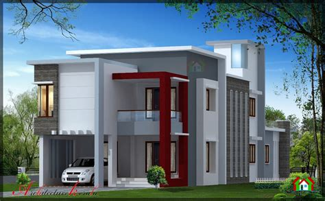 home designs kerala architects 1700 square feet contemporary house design architecture kerala