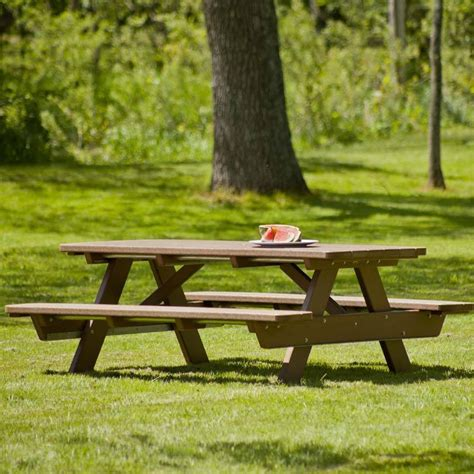 recycled plastic picnic bench recycled plastic park picnic table for parks communities