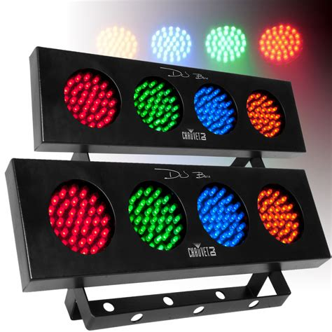 chauvet dj bank led light chauvet dj bank 4 colour bar dj lighting effect