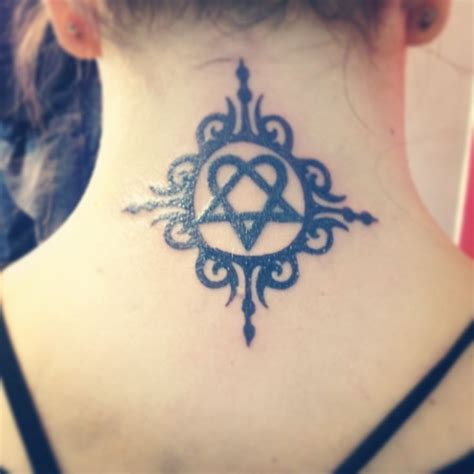 heartagram tattoos
